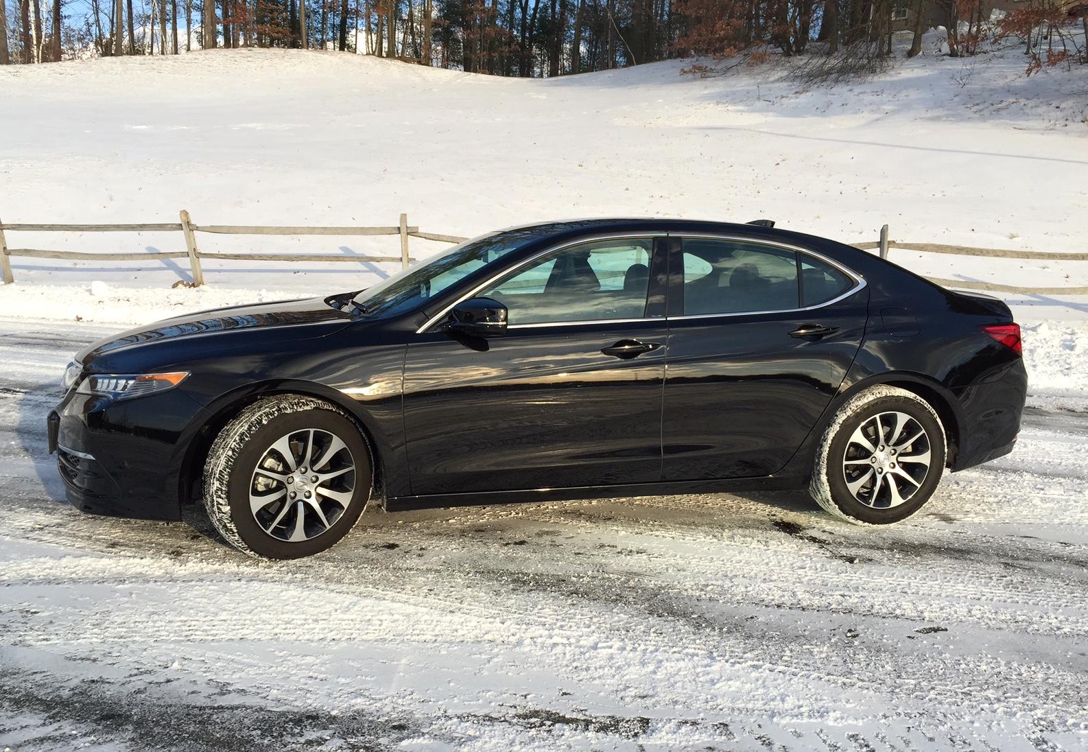 2015 Acura TLX Profile