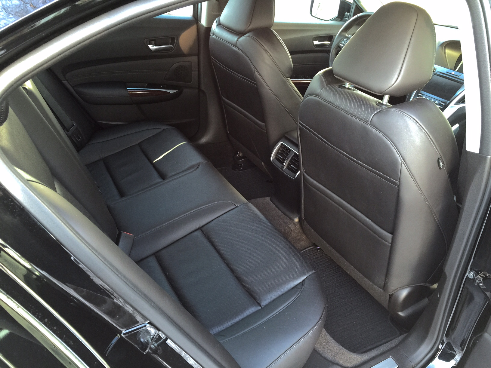 2015 Acura TLX Rear Seats