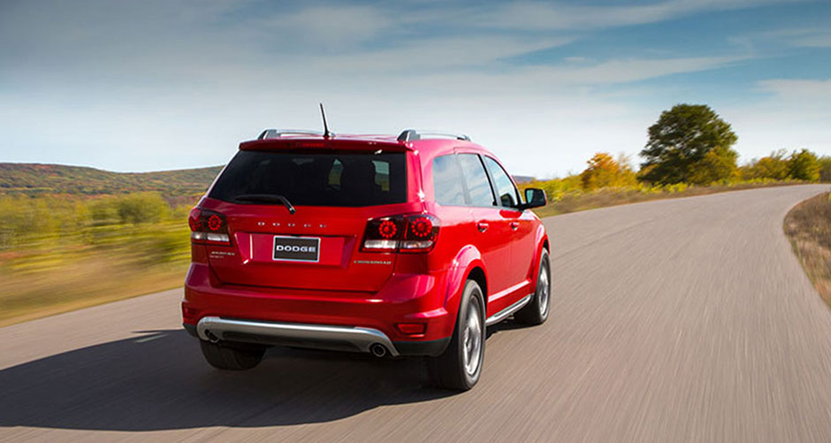 2015 Dodge Journey rear