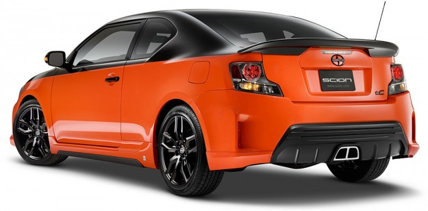 VIDEO: The Very Orange Scion tC Release Series 9 Hits Showrooms