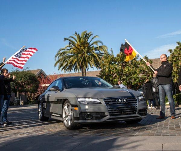 Audi Sends Its Self-Driving A7 On A Las Vegas Road Trip