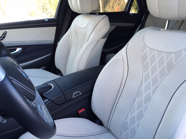 Mercedes-Benz S550 Front Seats