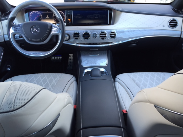 Mercedes-Benz S550 Full Dash