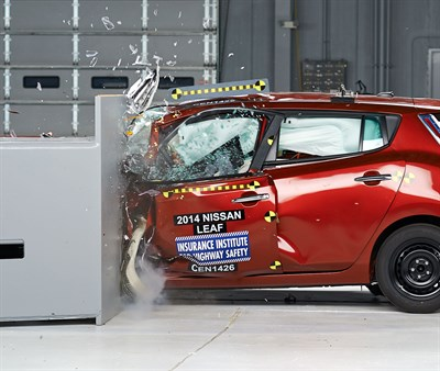 EVs fall behind on safety