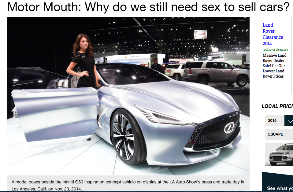 Too Sexy For Canada Are Spokesmodels Inappropriate At Auto Shows - Car show displays for sale