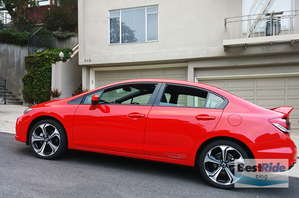 REVIEW Honda Civic Si Sedan  HighRevving Practicality  BestRide