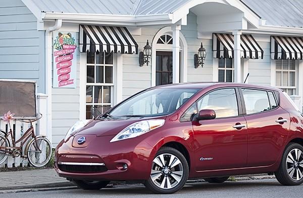 Nissan Leaf US EV sales leader