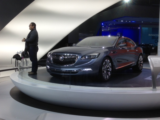 North American International Auto Show 2015 Buick Avenir Concept