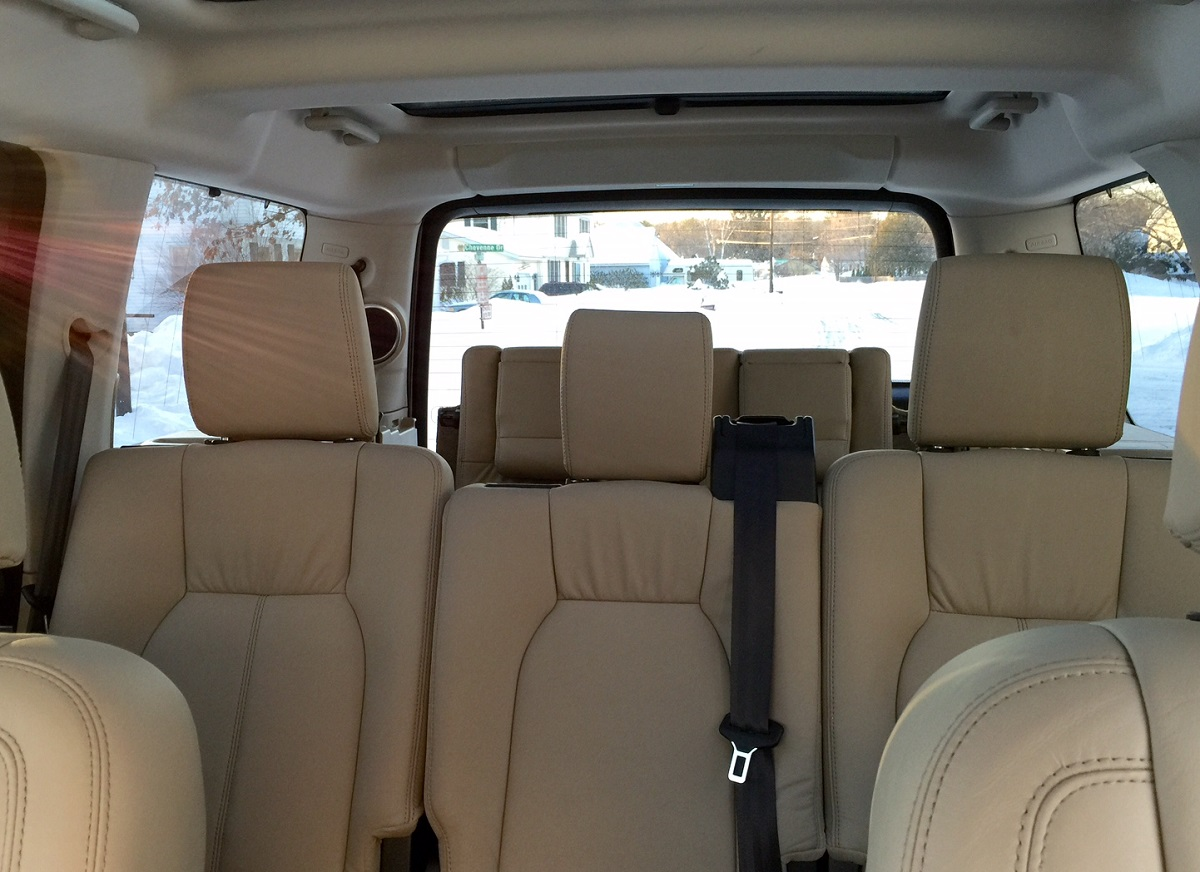 2014 Land Rover LR4 Seating