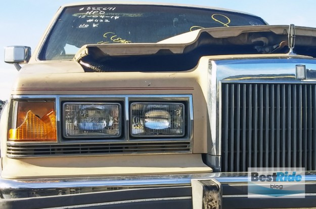 AT THE JUNKYARD: 1980s Ford Luxury – Grilles, Buttons and Velour