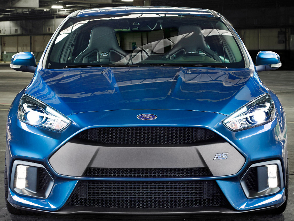 COMING SOON TO THE US Ford Focus RS With 316 Hp And AWD