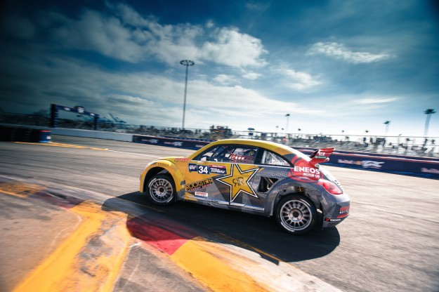 Chicago Auto Show 2015: Tanner Foust and Scott Speed Return to Red Bull Global Rallycross with Volkswagen