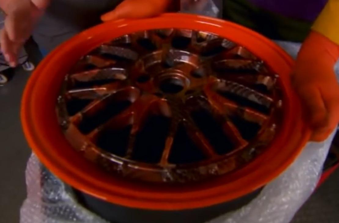 Wheel design by water transfer wheeler dealers