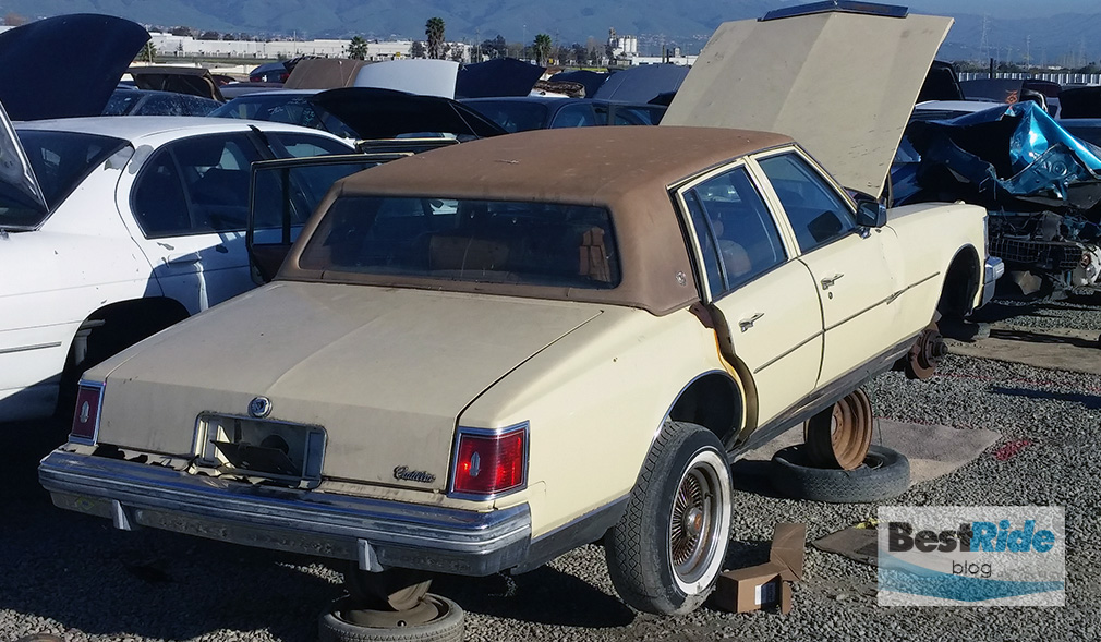 JUNKYARD THERAPY: Two Cadillac Sevilles | BestRide