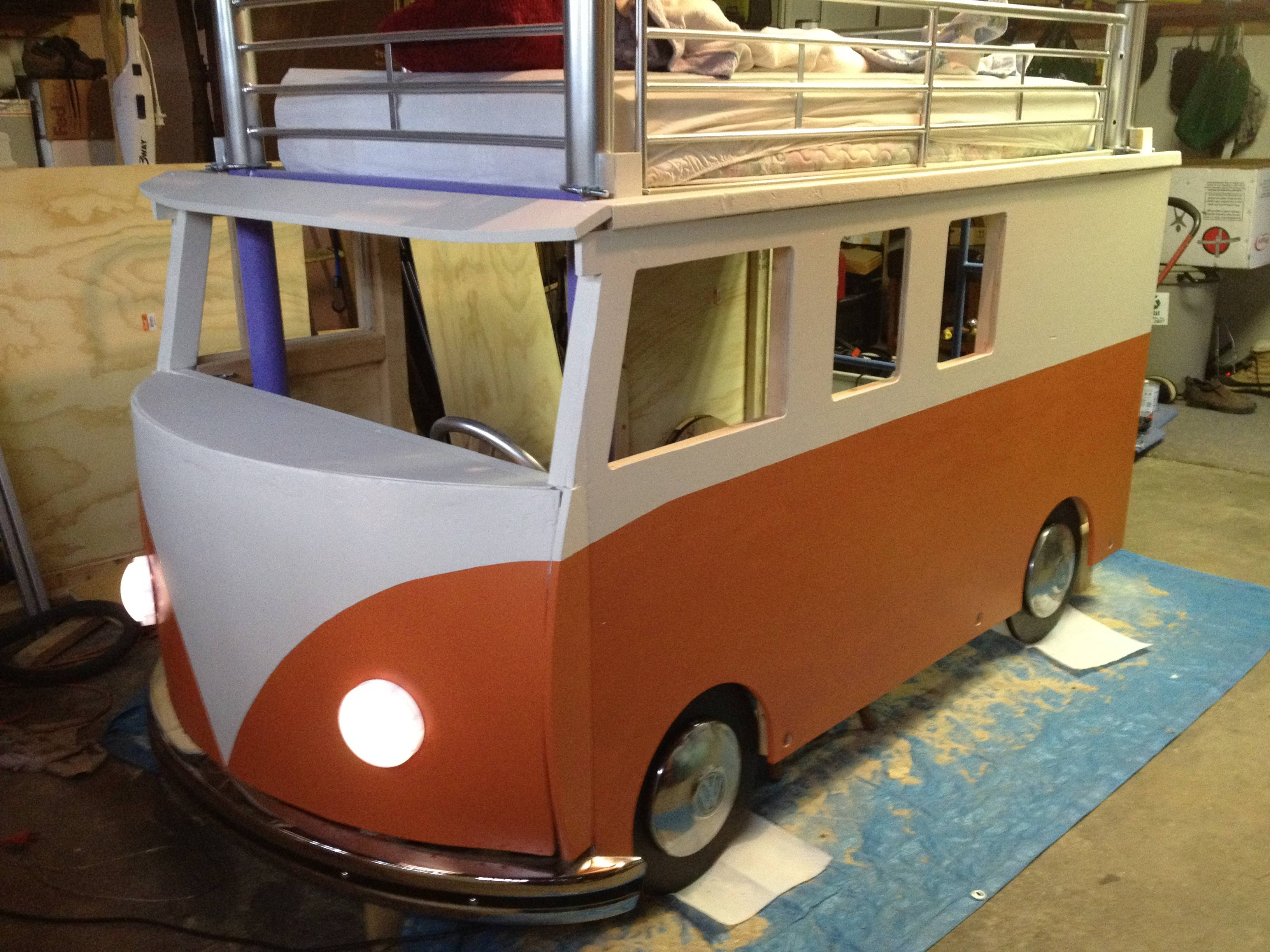 This Dude Built His Daughter A Vw Microbus Bunk Bed For 0 And It S Awesome Bestride
