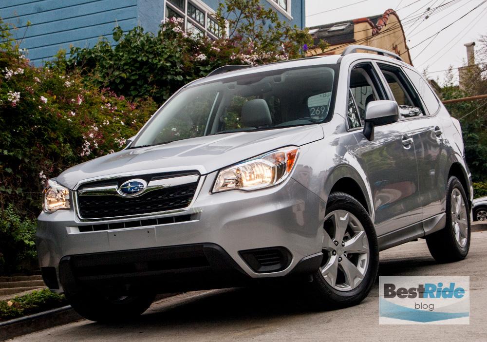 2015 Subaru Forester Gray
