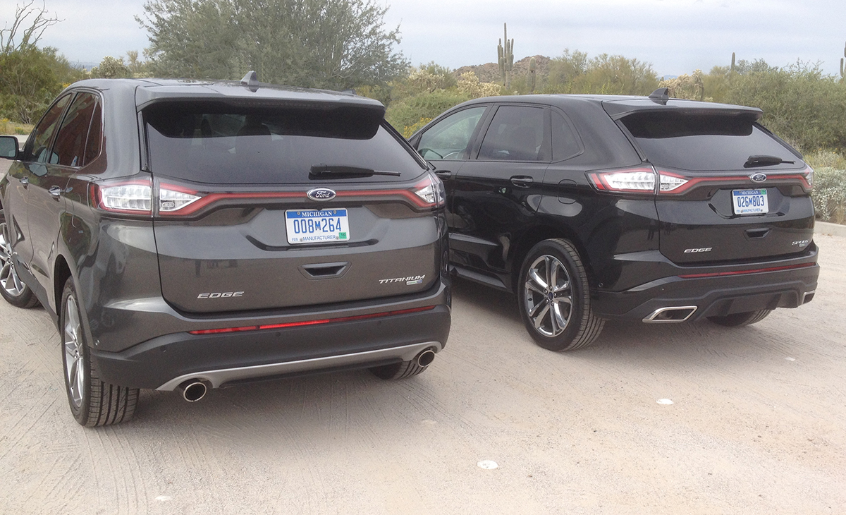 Ford Edge Titanium Sport rear photo
