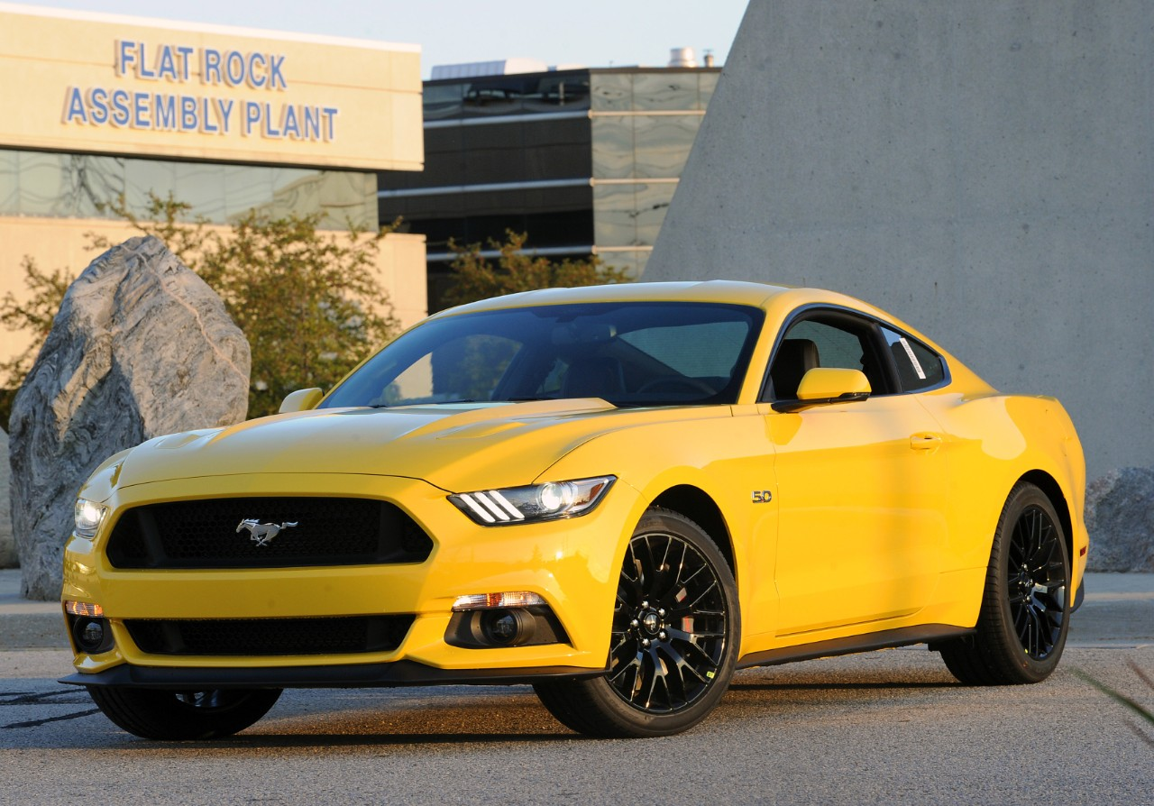 The results are in nobody wants a yellow mustang bestride