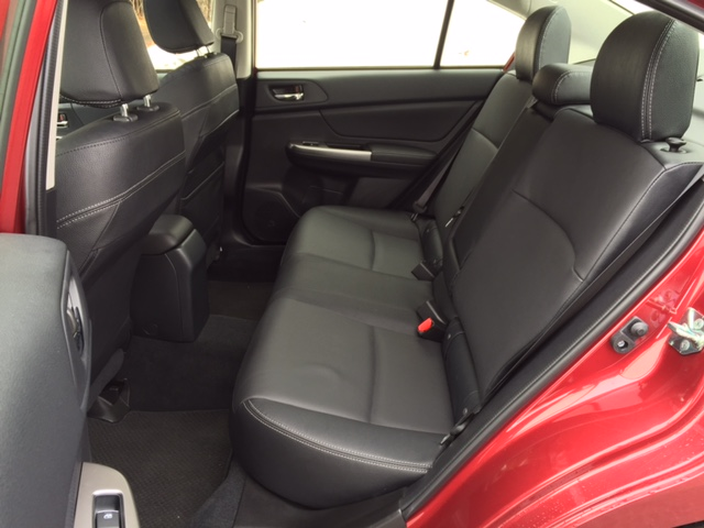2015 Subar Imreza Rear Seats