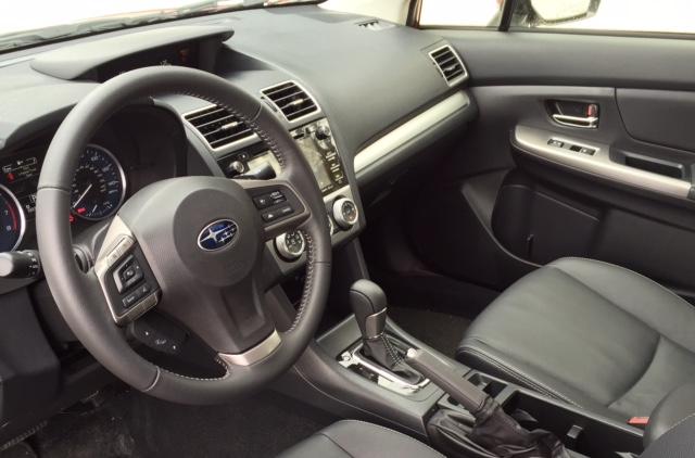 2015 Subaru Impreza Dash