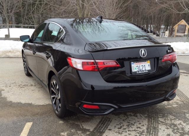 2016 Acura ILX Rear