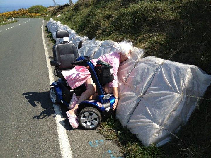 Isle of Nan TT Horrific Crash, Image Extreme Trifle