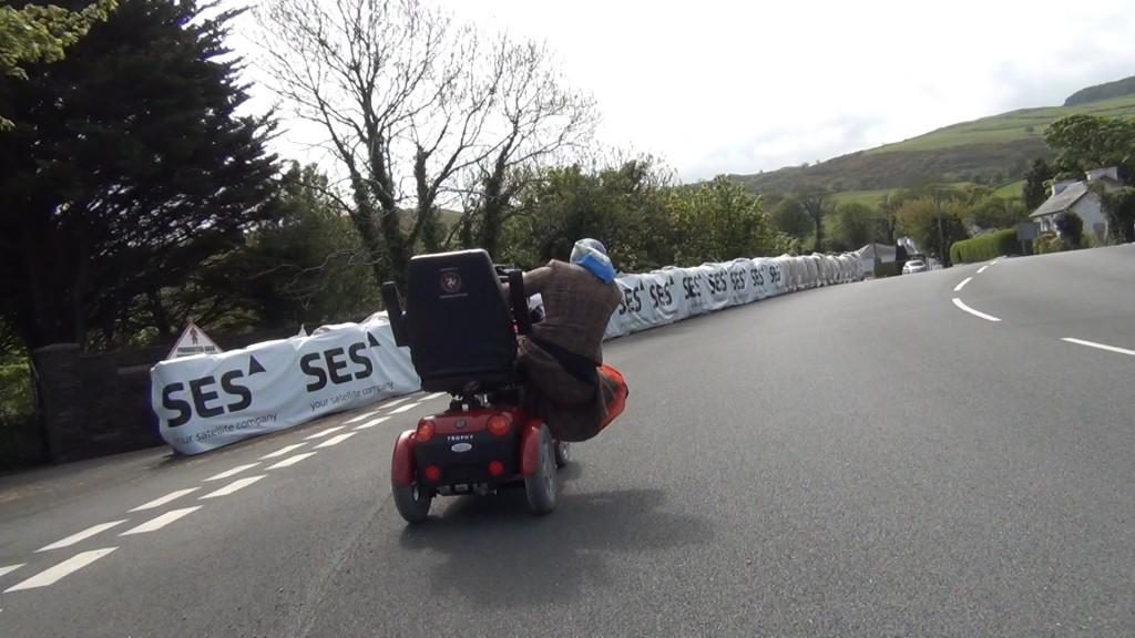 Isle of Nan TT Taking a Corner, Image Extreme Trifle