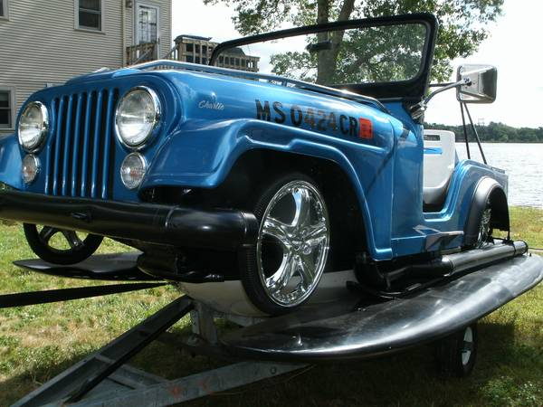 Jeepski Trailered