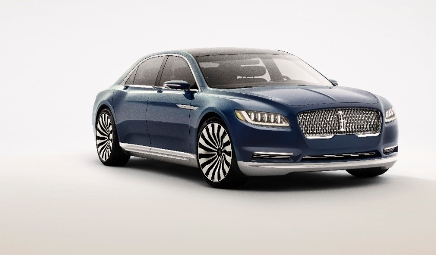 ny auto show 2015 lincoln continental concept. Black Bedroom Furniture Sets. Home Design Ideas