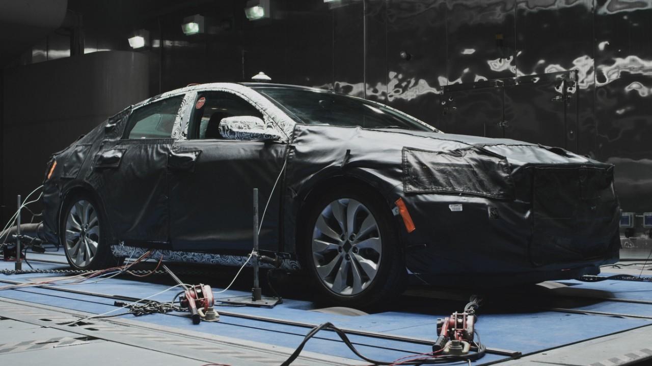 2016 Chevy Mailubu testing