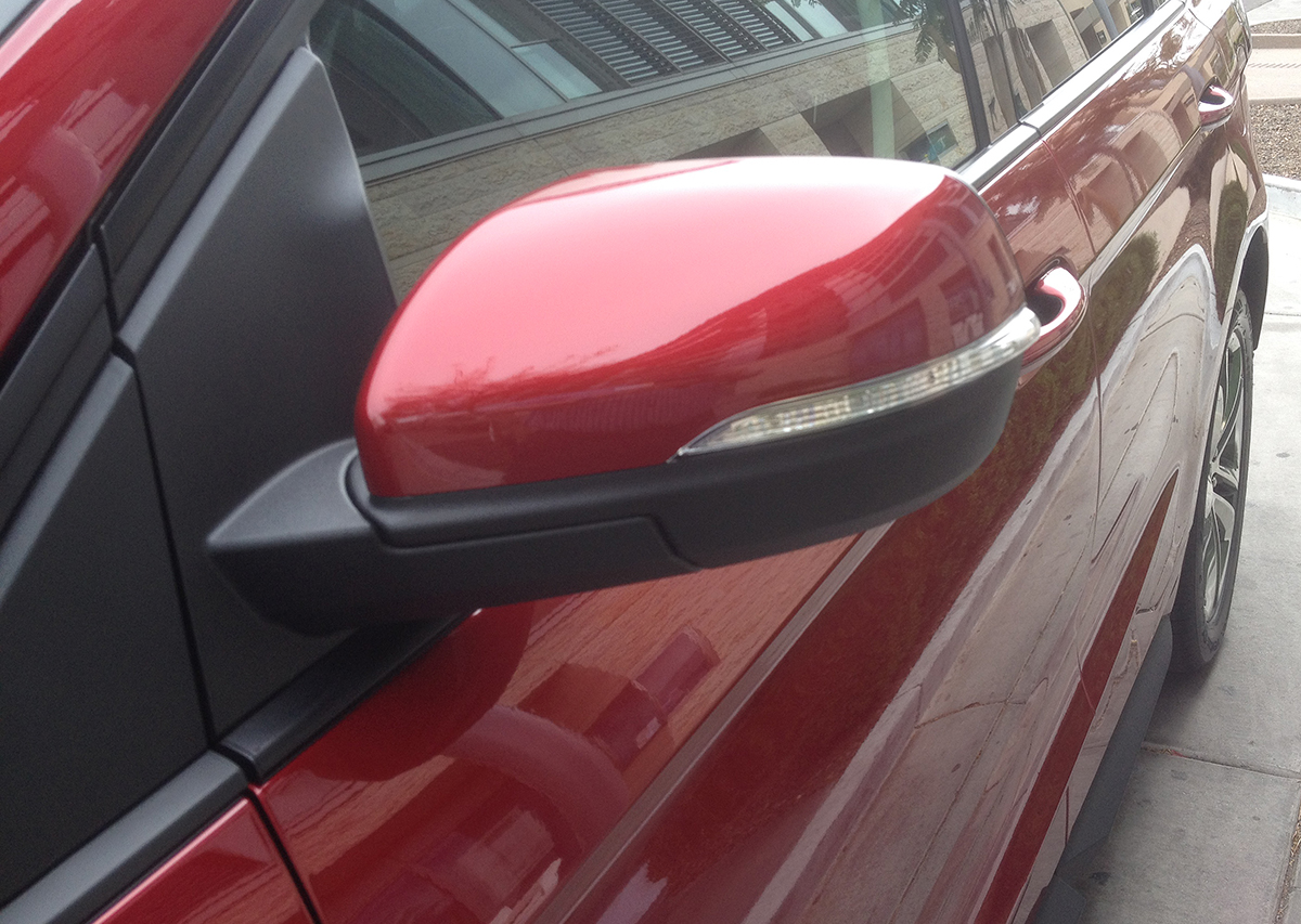 Ford Edge sideview mirror