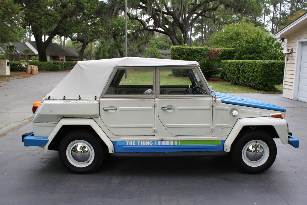 At The Auction 1974 Volkswagen Thing Acapulco Edition