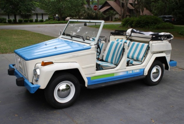 AT THE AUCTION: 1974 Volkswagen Thing Acapulco Edition