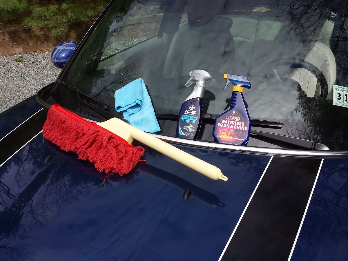Keep car clean in drought