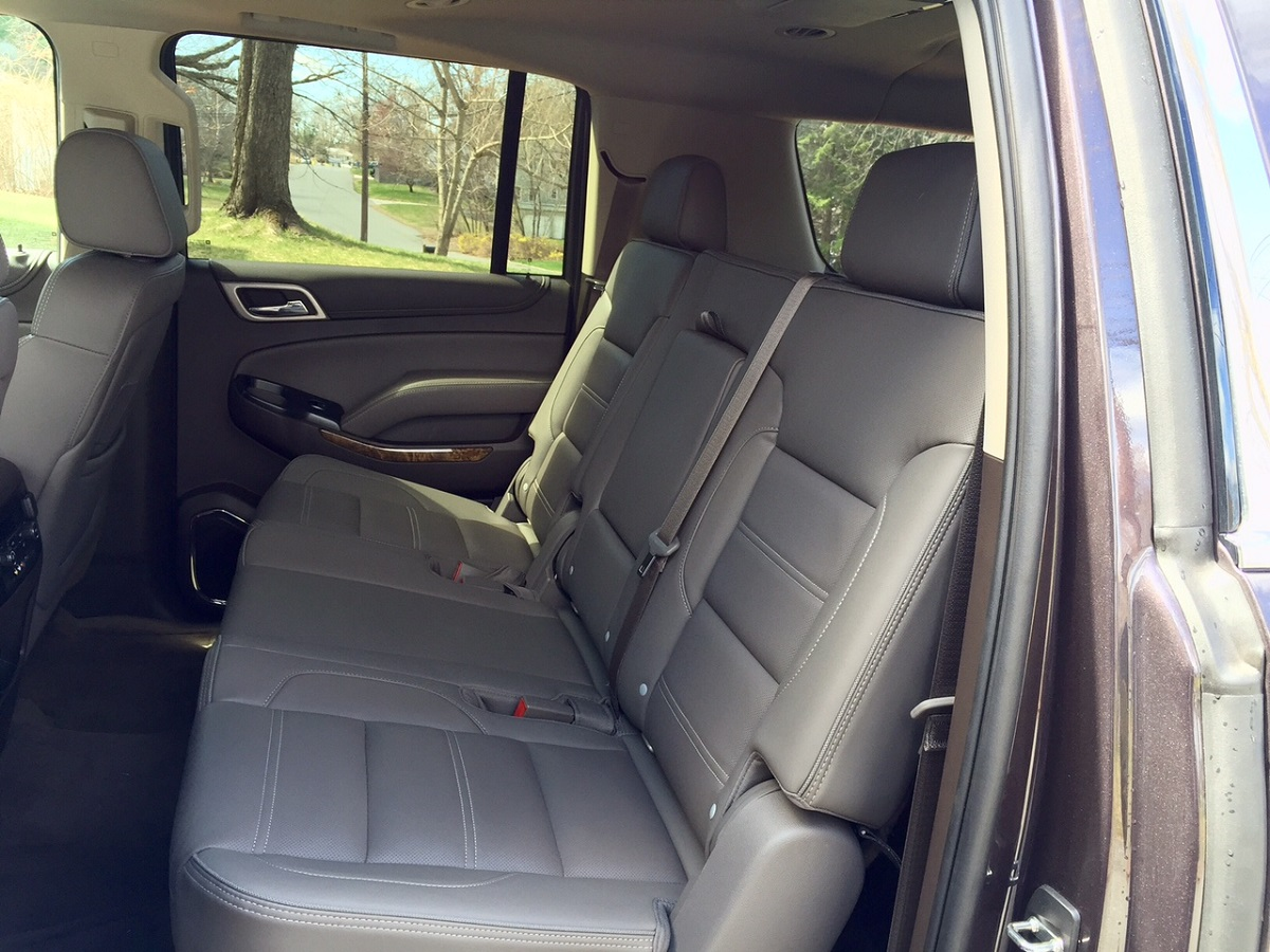 2015 GMC Yukon XL Denal Rear Seats