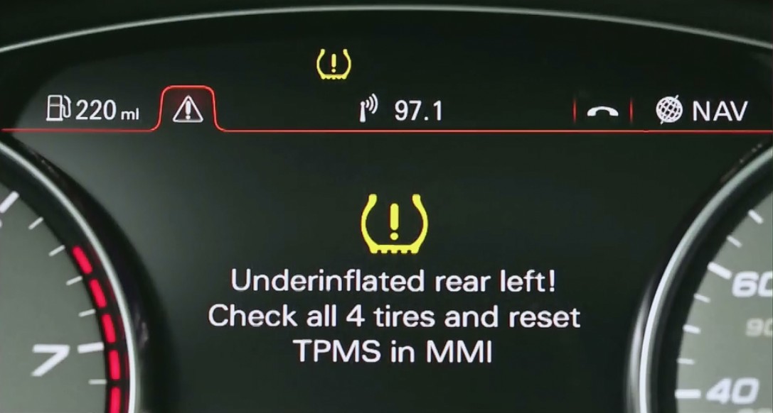 Audis Indirect Tire Pressure Monitoring System Why It Makes Good