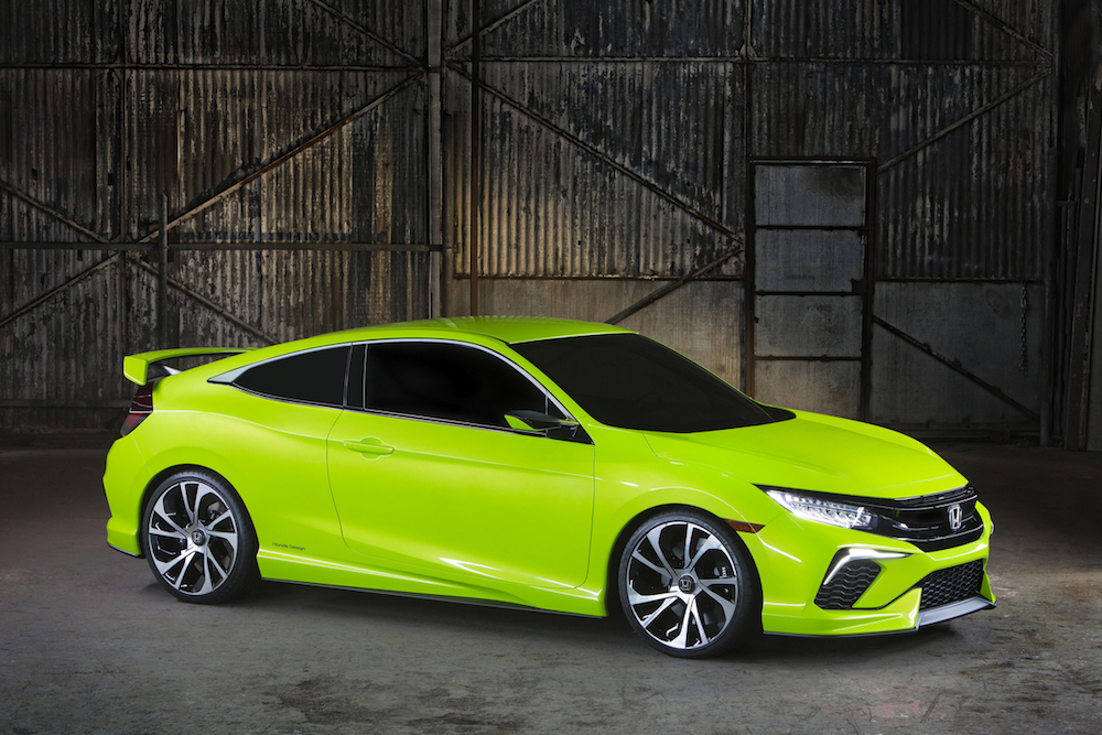 2015 New York International Auto Show: 2016 Honda Civic ...