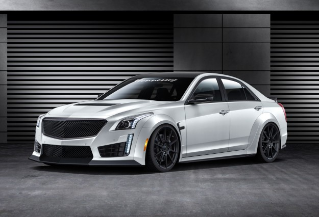 Hennessey Performance Engineering To Build a 1,000-HP 2016 Cadillac CTS-V