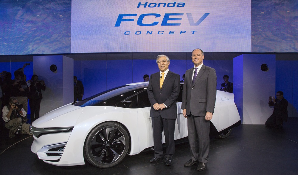 Honda fuel cell