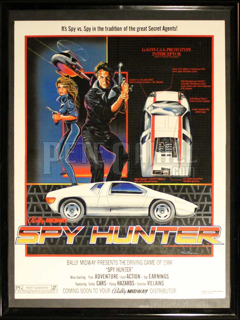 Spy-Hunter-Arcade-Game-Poster