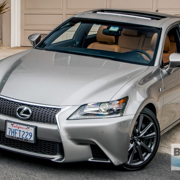 2014 Lexus Gs350: REVIEW: The Edgy Lexus GS 350 F SPORT