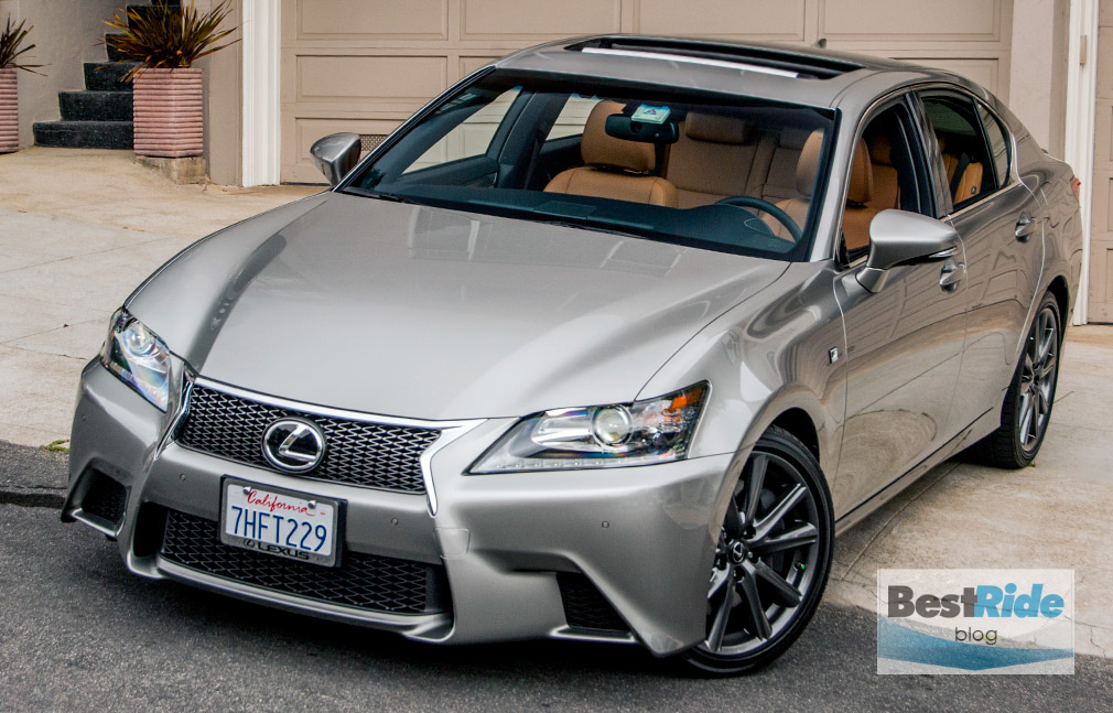 review the edgy lexus gs 350 f sport bestride. Black Bedroom Furniture Sets. Home Design Ideas