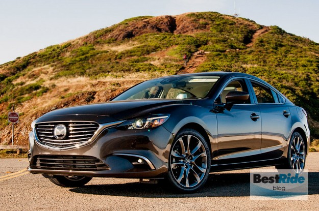 REVIEW: The Sinewy 2016 Mazda6 i Grand Touring