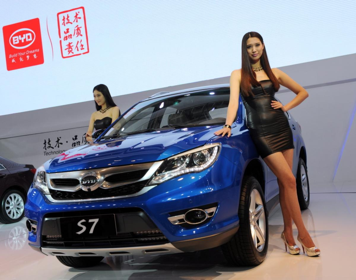automakers roll out suvs for shanghai motor show bestride. Black Bedroom Furniture Sets. Home Design Ideas