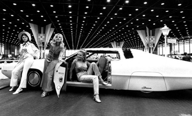 FORGOTTEN CONCEPT CARS: 1971 Ford Tridon