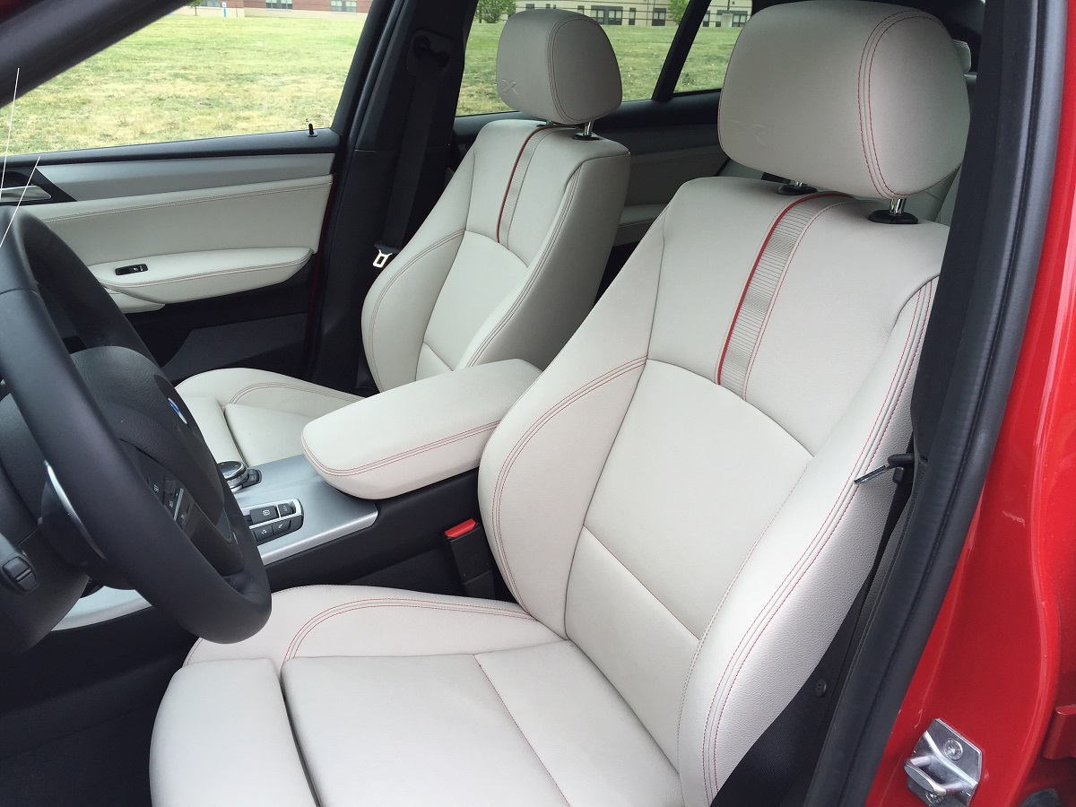 2015 BMW  X4 Front Seating