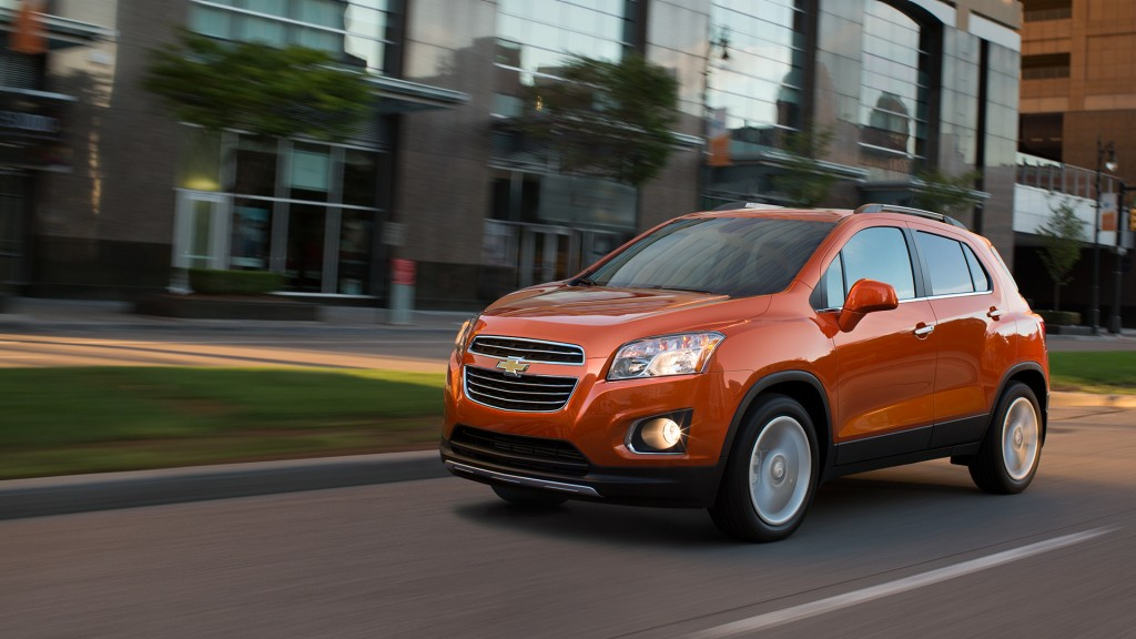 2015 Chevy Trax front
