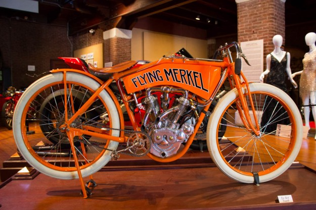 Beauty of the Beast: Larz Anderson Auto Museum's New Exhibit Encompasses the History of Two-Wheeled Travel