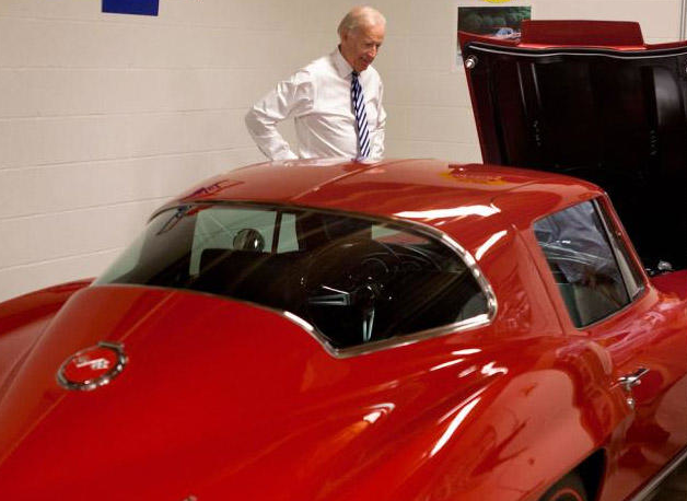 Joe-Biden-Corvette