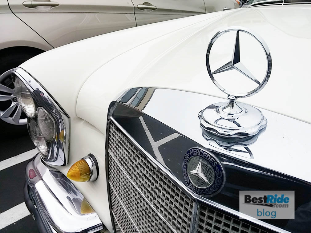 STREETSIDE: A 1966 Mercedes-Benz 250S In Appliance White   BestRide